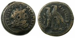 Ancient Coins - PTOLEMAIC EMPIRE.EGYPT.Ptolemy VI and Cleopatra I Thea 180-176 BC.AE.29.6mm. Mint of ALEXANDRIA.