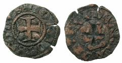World Coins - CRUSADER STATES.GREECE.EPIRUS.John II Orsini 1323-1335.AE.Denier.Struck at ARTA.