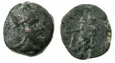Ancient Coins - ARMENIA.ARTAXIADS.Tigranes V AD 6-12.AE.17.6mm. Reverse. Herakles.