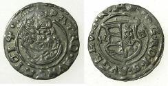 World Coins - HUNGARY.Matthias II H.R.E. AD 1612-1619.AR.Denar.1614.Mint of KREMNITZ.