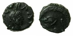 Ancient Coins - ROMAN.Leo I AD 457-474.AE.Nummis. Mint of CONSTANTINOPLE.Reverse. Lion.