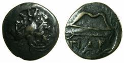 Ancient Coins - BLACK SEA.PANTIKAPAION.Circa 3rd Cent BC.AE.21mm
