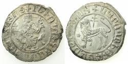 World Coins - ARMENIA.Levon I AD 1198-1219.AR.Double Tram.