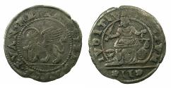 World Coins - ITALY.VENICE.Pietro Loredan AD 1567-1570.AR.Anonymous 2 gazzetta.issued by decree 10th April 1570