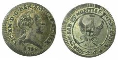 World Coins - ITALY.SAVOY.Coinage for SARDINIA.Vittorio Amadeo III 1773-1796.Billon.2.6 sold.1785. Mint of TURIN.