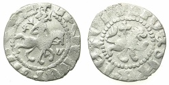 World Coins - ARMENIA.Oshin AD 1308-1320.AR.Takvorin.Mint of SIS.Sigla K M.