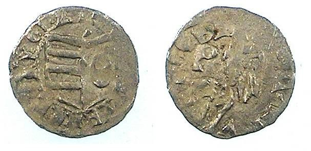 Ancient Coins - ROMANIA.VOIVODES OF WALLACHIA.Dan I 1383-1386.Denier.