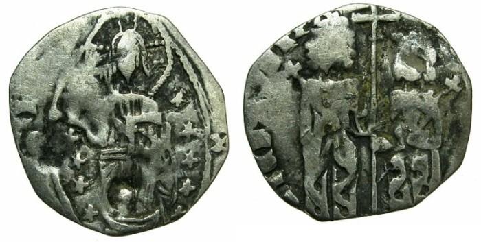 Ancient Coins - SERBIA.Stefan VIII Uros IV Dusan as Emperor AD 1345-1355.AR.Dinar.
