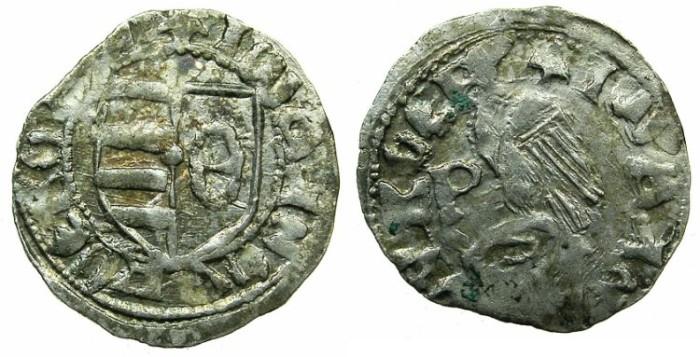 World Coins - ROMANIA.VOIVODES OF WALLACHIA. Dan I 1383-1386.Denier.