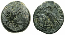 Ancient Coins - PTOLEMAIC EMPIRE.CYPRUS.Ptolemy IV Philopator 221-205 BC.AE. 24.7mm. Mint of PAPHOS?