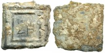 Ancient Coins - GREEK.Circa 2nd to 1st cent BC.Lead weight equivalent to 8 Drachmas.( 22.25g).