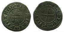 World Coins - SPAIN.MALLORCA.James III AD 1324-1342.Billon Dinero.