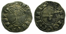 World Coins - CRUSADER STATES.Principality of ANTIOCH. Bohemond III or IV c.1149-1233Bi.Denier.Class C.