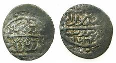 World Coins - TURKEY.OTTOMAN EMPIRE.Mehmed Celebi 806-816H ( AD 1403-1413 ).AR.Akce. 806H.Mint of BURSA
