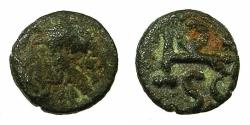 World Coins - OSTROGOTHIC.Athalaric AD 562-534.AE.Nummis.Mint of ROME. struck in the name of Justinian.