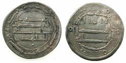 Ancient Coins - ISLAMIC.ABASSID CALIPHS. el-Mahdi Khalifa 158-169H ( AD 775-785 ).AR.Dirhem, 165H.Mint of al-Muhammadiya.