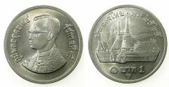 World Coins - THAILAND.CN.Baht 1982.Uncirculated.