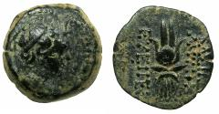 Ancient Coins - SELEUCID EMPIRE.Antiochus VII Euergetes-Sidetes 138-129 BC.AE.Mint of ANTIOCH.