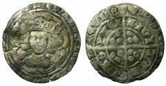 World Coins - ENGLAND.Edward IV 1st reign AD 1461-1470.light coinage 1464-1470.AR.Groat.Mint of YORK.