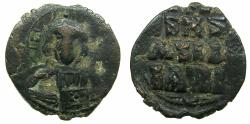 Ancient Coins - BYZANTINE EMPIRE.Anonymous Follis.class E.Mint of CONSTANTINOPLE.