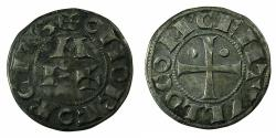 World Coins - FRANCE.BEARN.CENTULLO.Anonymous issues 12th-13th cent AD.AE.Denier.