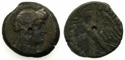 Ancient Coins - EGYPT.ALEXANDRIA.Ptolemy V Epiphanes 205-180 BC.AE.Tetrobolon.
