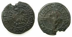 World Coins - NETHERLANDS.GRONINGEN.AE.Dubbele Plak of 1/4 Stuiver Brabants.1609.
