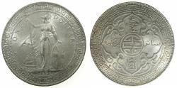 World Coins - GREAT BRITAIN.AR.Trade Dollar 1897 Bombay mint.