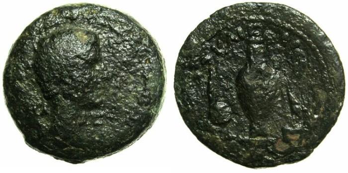 Ancient Coins - EGYPT.ALEXANDRIA.Augustus 27BC - 14AD.AE.40 Drachmas.