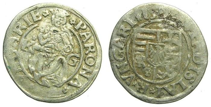 Ancient Coins - HUNGARY.Wladislaw II AD 1490-1516.AR.Denar 1512.Kremnitz  mint.