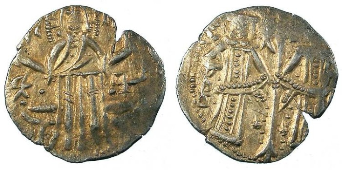 Ancient Coins - BULGARIA.Ivan Alexander 1331-1371.AR.Grosch, 2nd type; with his son Michael Asen 1331-1355.