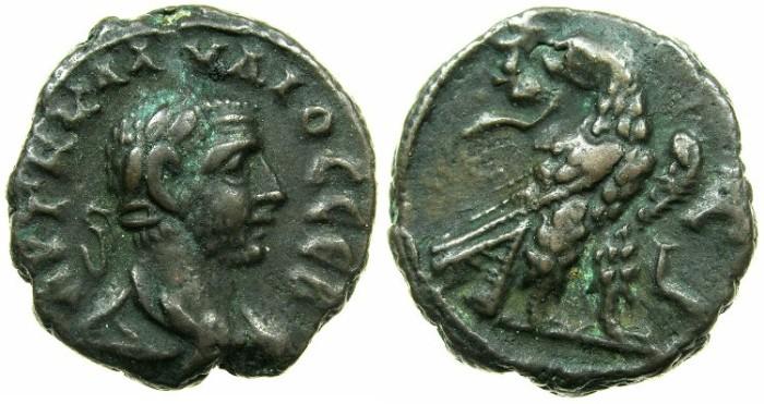 Ancient Coins - EGYPT.ALEXANDRIA.Claudius II Gothicus AD 268- Jan.270.Billon Tetradrachm, struck AD 268.