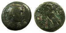 Ancient Coins - EGYPT.ALEXANDRIA.Augustus 27BC-AD14.AE.80 Drachmas. ****The First Roman coin for Egypt ****