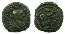 Ancient Coins - EGYPT.ALEXANDRIA.Probus AD 276-282.Billon Tetradrachm, struck AD 279/80.~#~. Nike right