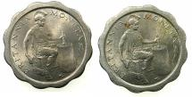 World Coins - CYPRUS.Royal mint trial strike copper nickel flan for the 1934 issue of  1/2 Piastre.