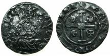 World Coins - CRUSADER STATES.Kingdom of CYPRUS.Hugh IV 1324-1359.AR.Gros grand.***Good space filler ****