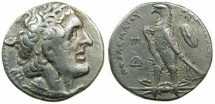 Ancient Coins - PTOLEMAIC EMPIRE.EGYPT.ALEXANDRIA.Ptolemy II Philadelphus 285-246 BC.AR.Tetradrachm.struck circa 258/7-252/1 BC.