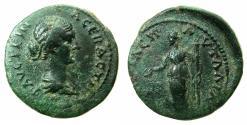 Ancient Coins - THRACE.PAUTALIA.Faustina Junior, wife of Marcus Aurelius, Augusta AD 147-175.AE.22.3mm. Reverse. Demetra.