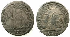 World Coins - ITALY.VENICE.Alvise Mocenigo III AD 1722-1732.AR.15 Soldi.1722.