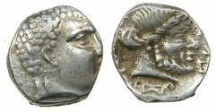 Ancient Coins - SOUTH ARABIA.KATABANIAN. end 1st cent BC to 1st cent BC.AR.Unit.