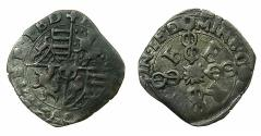 World Coins - ITALY.SAVOY.Emmanuel Philibert AD 1553-1580.AE.Soldo.3rd Type ( struck 1571 or 1576 ).Mint of TURIN.