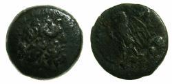 Ancient Coins - PTOLEMAIC EMPIRE.EGYPT.ALEXANDRIA.Ptolemy II Philadelphos 285-246 BC.AE.17.4mm