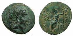 Ancient Coins - CILICIA.Tarkondimotos 39-31 BC.AE.21.1mm. Expressive portrait of Tarkondimotos.