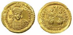 Ancient Coins - ROMAN.Theodosius II AD 402-450.AV.Solidus. Mint of CONSTANTINOPLE.