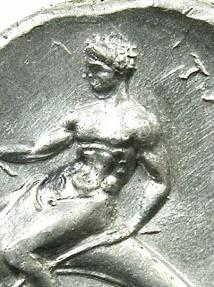 Ancient Coins - CALABRIA.TARENTUM.Circa 302BC.AR.Nomos.****SUPERB GRADE****