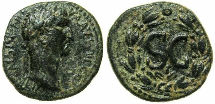 Ancient Coins - SYRIA.SELEUCIS AND PIERIA.ANTIOCH.Nerva AD 96-98.AE.21mm.