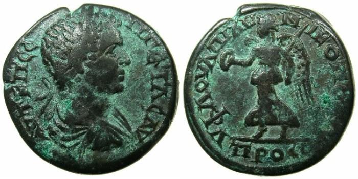 Ancient Coins - INFERIOR.NIKOPOLIS AD ISTRUM.Geta Augustus AD 221-222.AE.27mm.~#~.Nike.