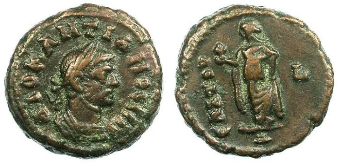 Ancient Coins - EGYPT ALEXANDRIA.Diocletian  AD 284-296.Bi.Tetradrachma.Elpis standing