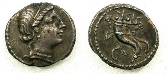 Ancient Coins - ROME Republic L Sulla Anonymous issue  81BC AR Denarius