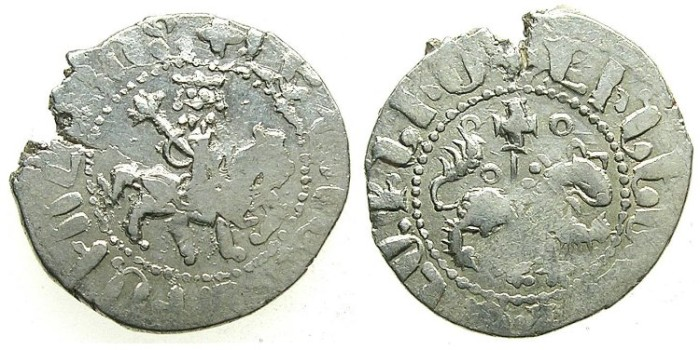 Ancient Coins - ARMENIA.Levon The Usurper 1363-1365.AR.Takvorin. Mint of SIS.